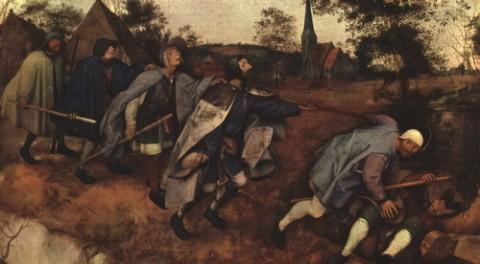 Bruegel il Vecchio, La parabola dei ciechi <br/>1568, Napoli, Galleria Nazionale di Capodimonte